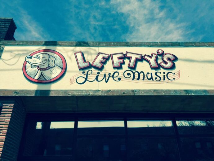 lefty's sign